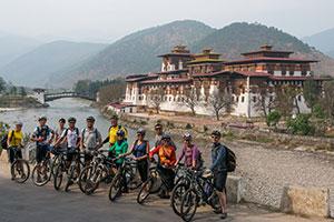 Cycling Bhutan from Thimpu to Bhumtang
