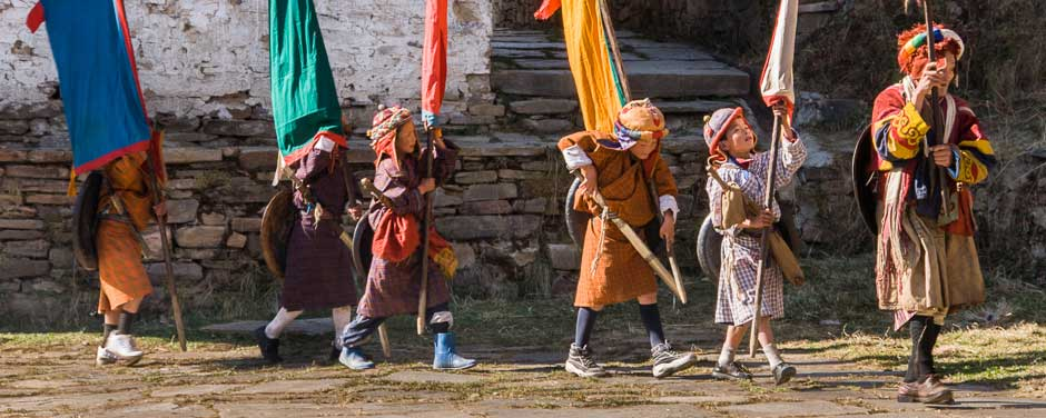 Bhutan festival in Shingkhar village