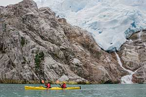 Kayaking the Strait of Magellan