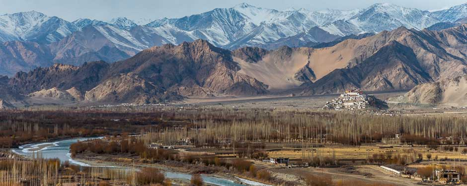 Headwaters of the Indus River, Ladakh, Indian Himalaya