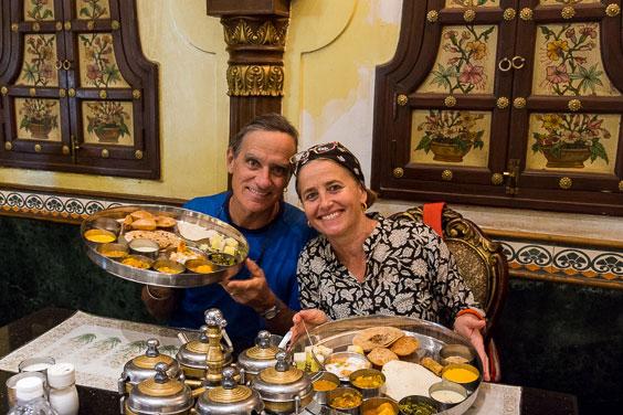 Jock Montgomery and Annie Miniscloux Gujarat, India