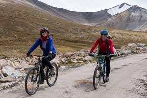 Cycling from the Wari La