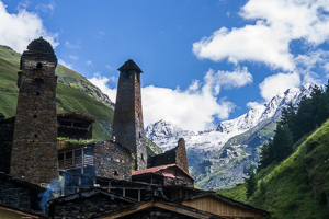 Republic of Georgia Caucasus mountains