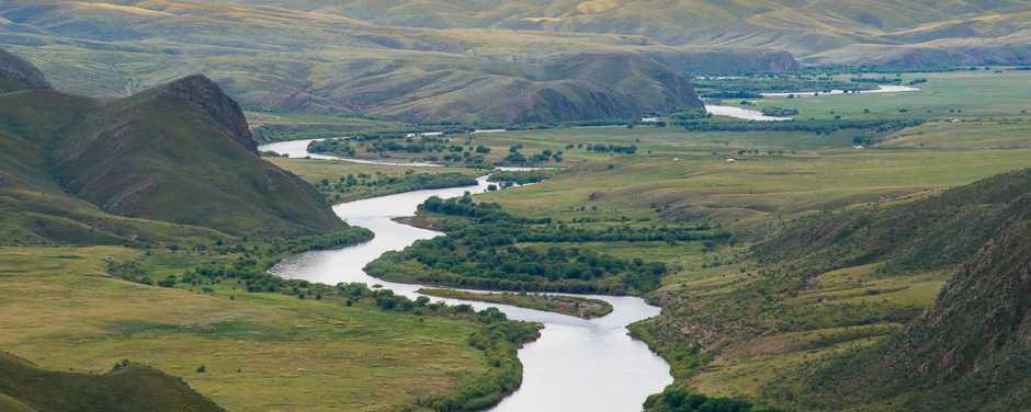 Orkhon River valley, Mongolia