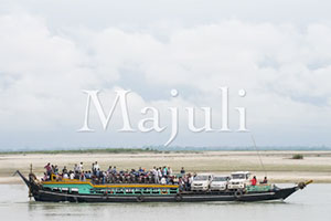 Majuli Island in the Bramaputra River